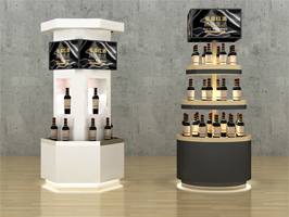Electronic promoter solution in wine shop